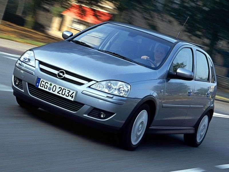 Opel Corsa C [zmiana stylizacji] hatchback 5 drzwiowy. 1.0 Easytronic (2003 2006)