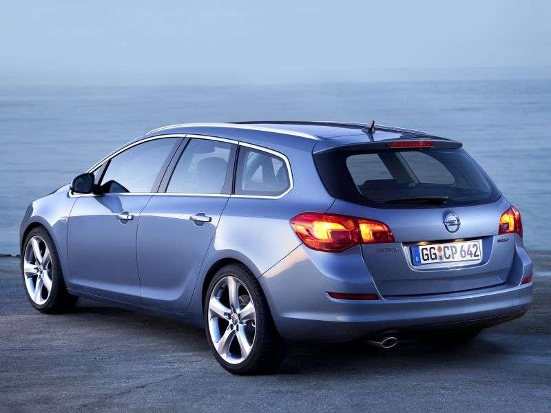 Opel Astra JSports Tourer wagon 1.6 AT Enjoy (2010–2012)