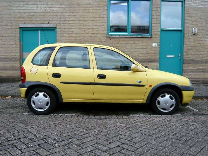 Opel Corsa B [restyling] 5 dv hatchback 1.2 AT (1998 2000)