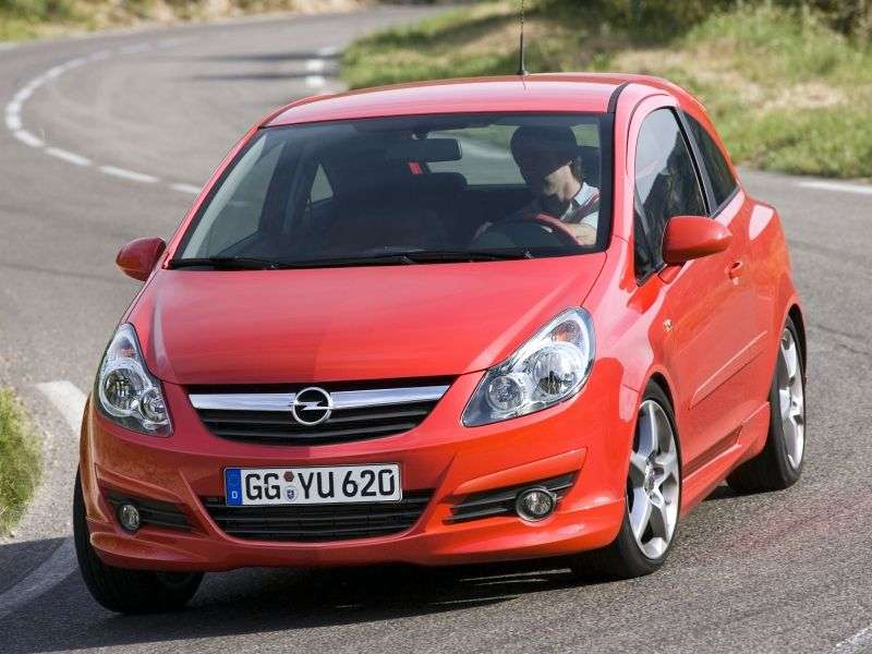 Opel Corsa DGSi hatchback 3 drzwiowy 1,6 MT (2010 2011)