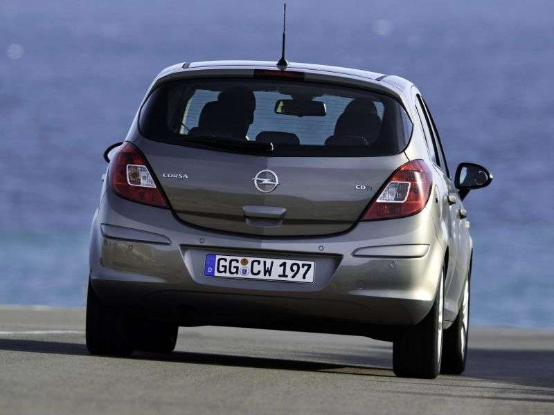 Opel Corsa D [restyling] 5 dv hatchback 1.2 MT Like Edition (2010 – n. In.)