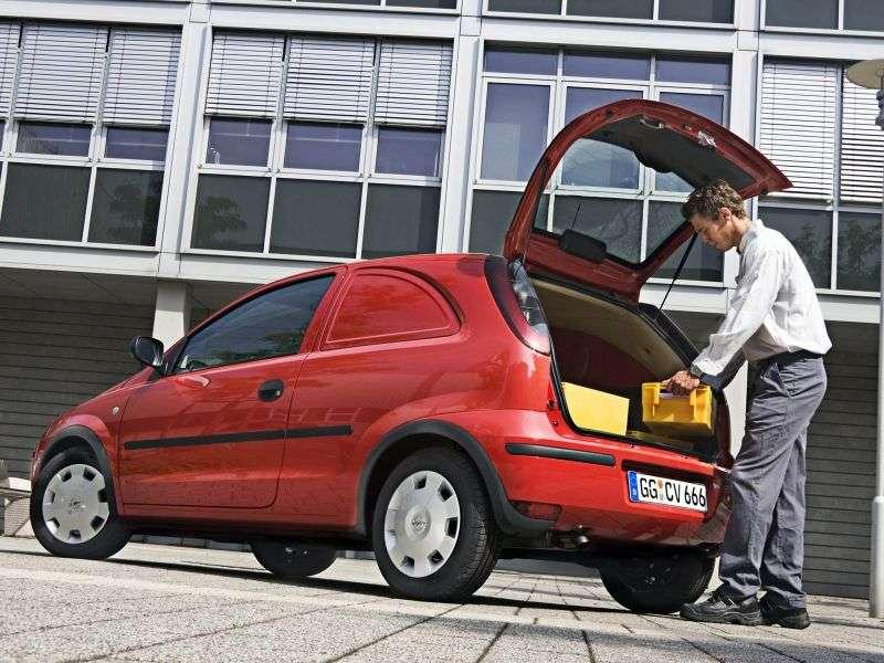 Opel Corsa C [restyled] VAN van 1.2 Easytronic (2004–2006)