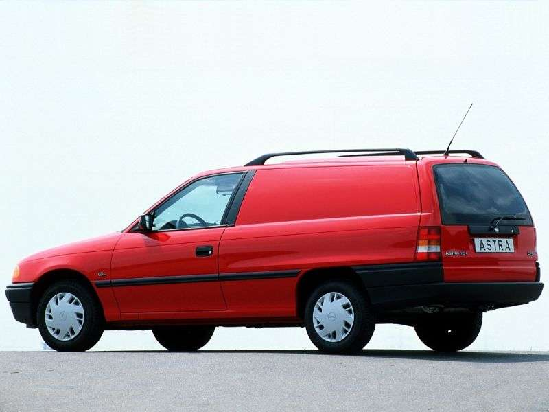 Opel Astra Freight 1.6 MT (1991–1993)