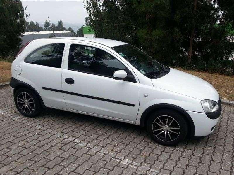 Opel Corsa Van 2 dv. 1.7 DTI MT (2000–2003)
