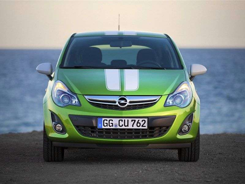 Opel Corsa D [restyling] 3 bit hatchback 1.4 AT Enjoy (2011 – n. In.)