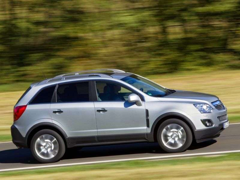 Opel Antara 1st generation [restyling] 2.2 CDTi AT AWD crossover (2011 – n.)