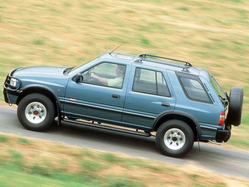 Opel Frontera Aircraft 5 doors 2.3 TD MT (1992–1998)