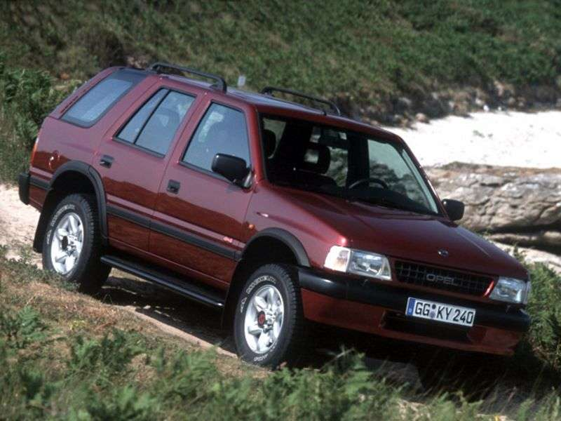 Opel Frontera Aircraft 5 doors 2.2 MT (1995–1998)