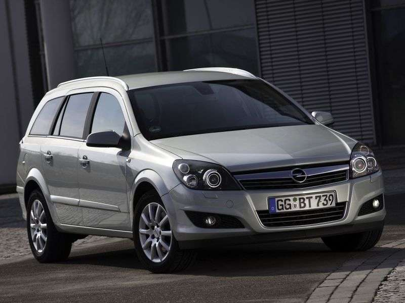 Opel Astra Family / H [restyling] wagon 1.8 AT Cosmo (2007 – current century)