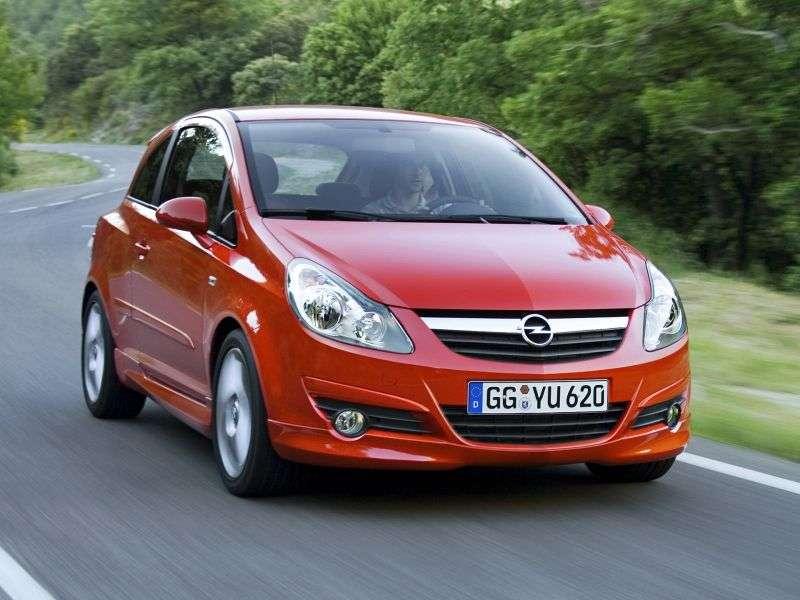 Opel Corsa DGSi hatchback 3 dv. 1.6 MT (2010–2011)