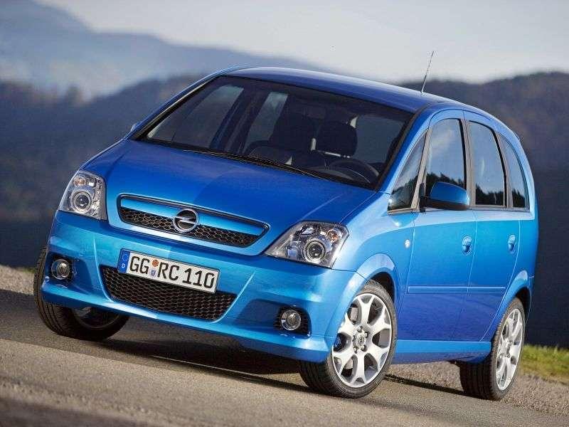 Opel Meriva 1st generation [restyled] OPC minivan 5 dv. 1.6 Turbo MT (2004–2010)