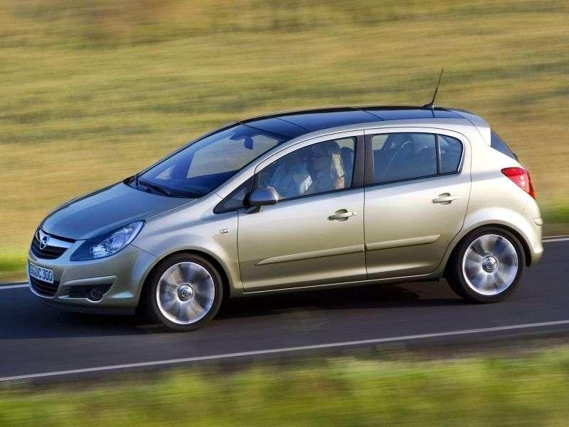 Opel Corsa Dhetchbek 5 dv. 1.3 CDTi MT (2010–2011)