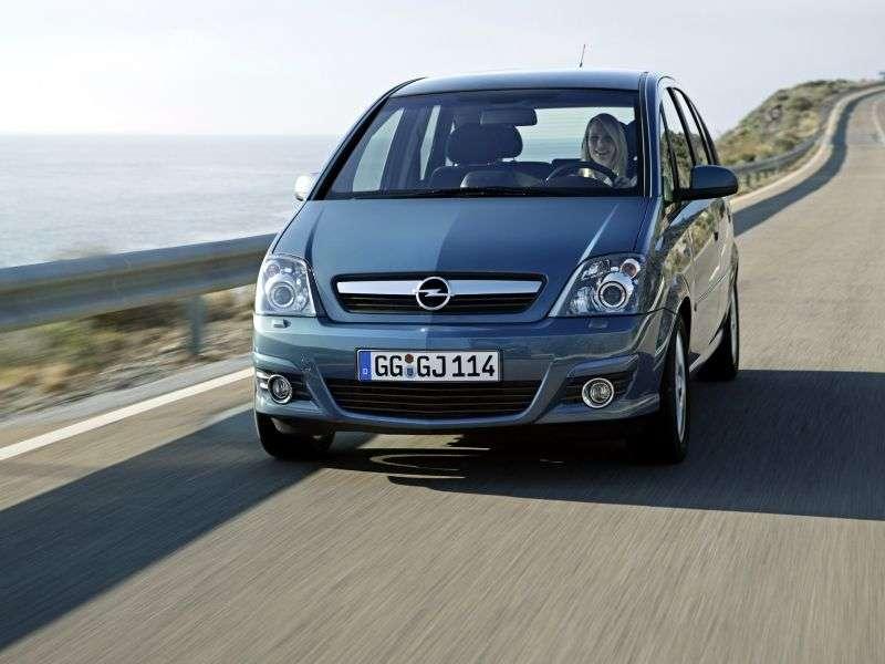 Opel Meriva 1st generation [restyled] minivan 5 dv. 1.4 LPG MT (2009–2010)