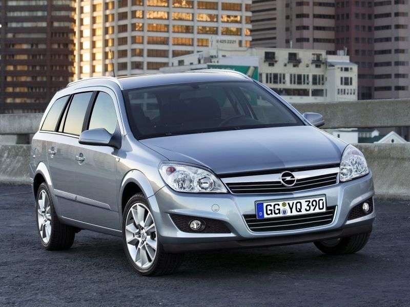 Opel Astra Family / H [restyling] wagon 1.6 MT Enjoy (2007 – n.)