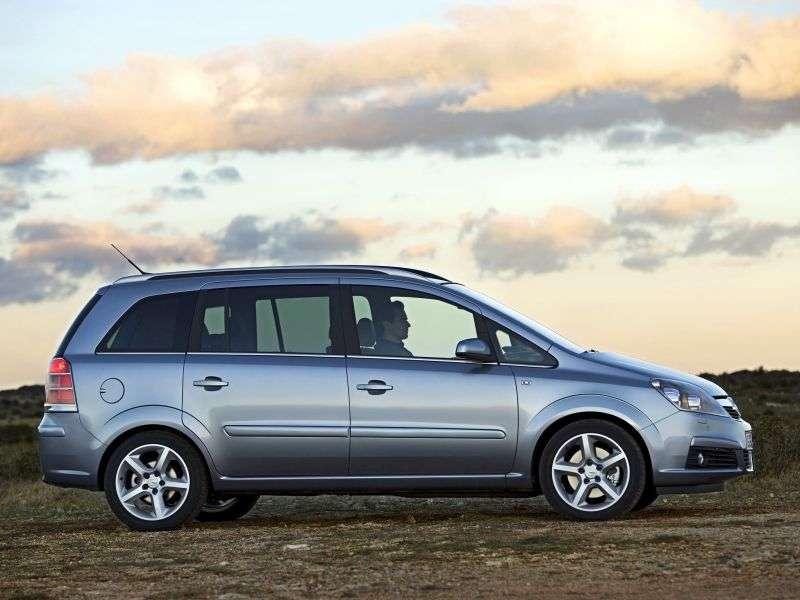 Opel Zafira Bminivan 5 bit 2.2 MT (2005–2008)