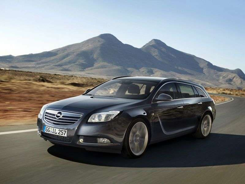 Opel Insignia 1st generation Sports Tourer 5 speed wagon. 2.0 Turbo AT 4x4 Elegance (2012 – n.)