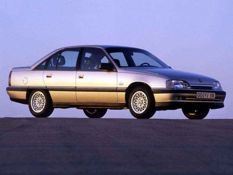 Opel Omega A [restyled] sedan 2.3 D MT (1990–1992)