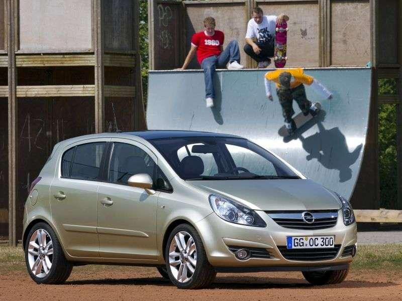 Opel Corsa Dhetchbek 5 dv. 1.3 CDTi MT (2006–2010)