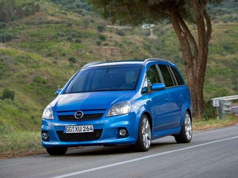 Opel Zafira BOPC 5 door minivan 2.0T MT (2005–2010)