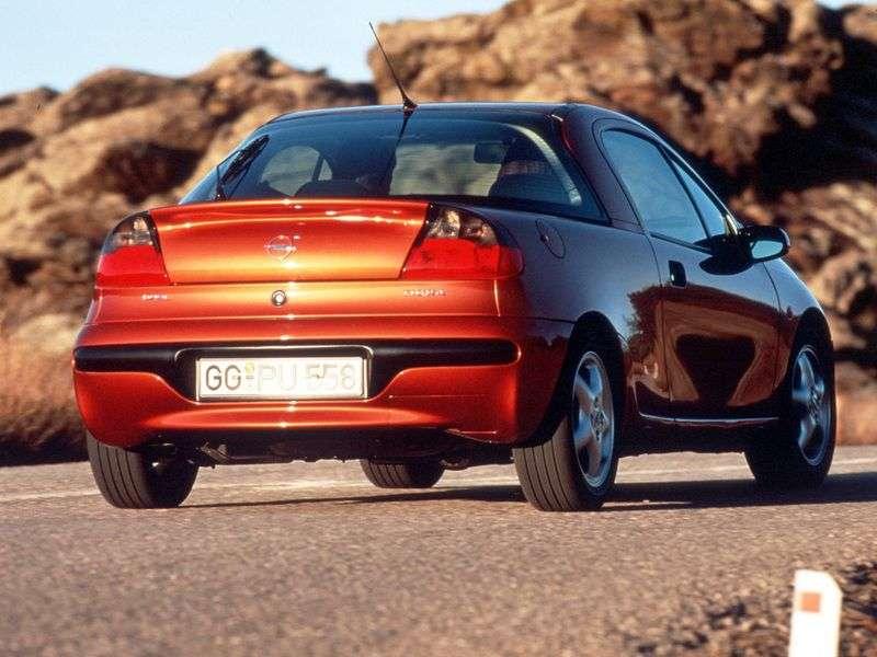 Opel Tigra 1st generation coupe 1.4 MT (1994–2000)
