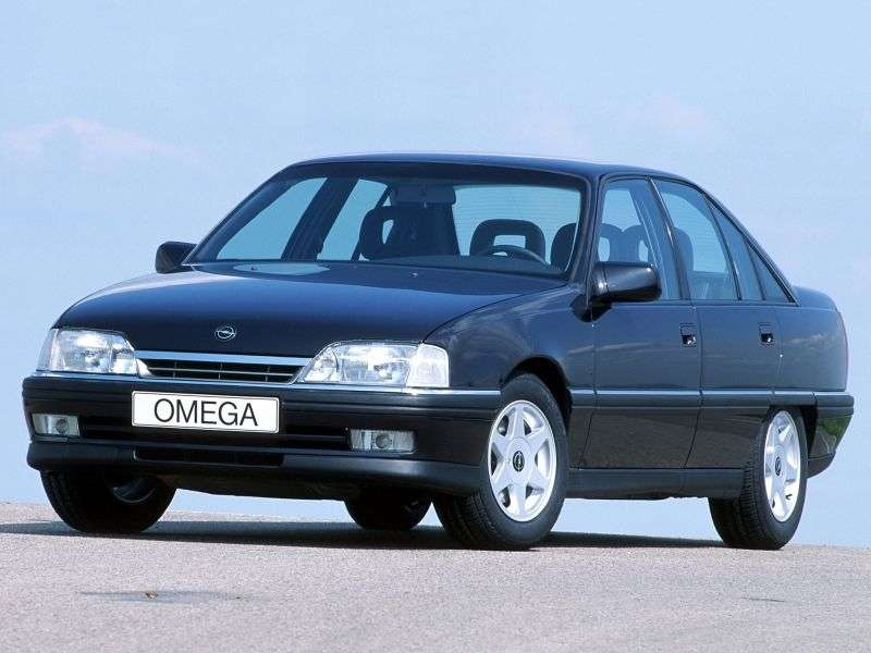 Opel Omega A [restyling] 1.8 MT sedan (1990–1994)