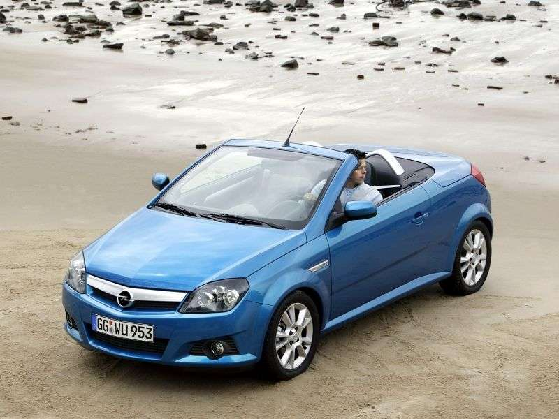 Opel Tigra 2nd generation roadster 1.8 MT (2004–2009)