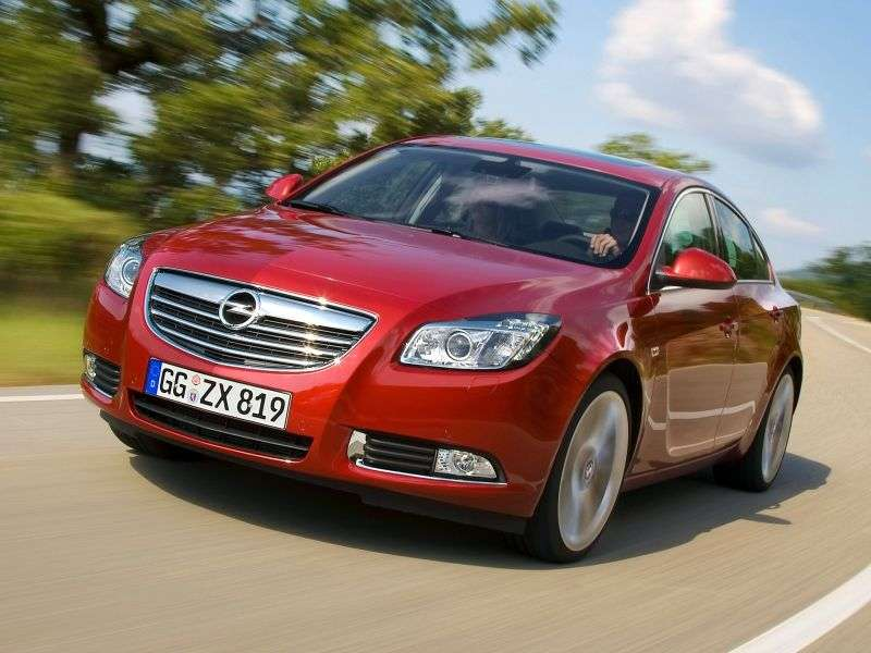 Opel Insignia 1st generation 4 door sedan 2.0 DTH MT Cosmo (2009 – present)