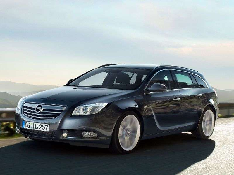Opel Insignia 1st generation Sports Tourer 5 speed wagon. 1.6 Turbo MT Elegance (2009 – present)