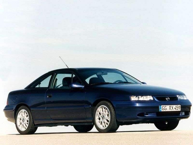 Opel Calibra 1st generation [restyling] coupe 2.0 MT (1990–1996)