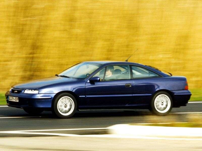 Opel Calibra 1st generation [restyled] coupe 2.5 AT (1993–1997)