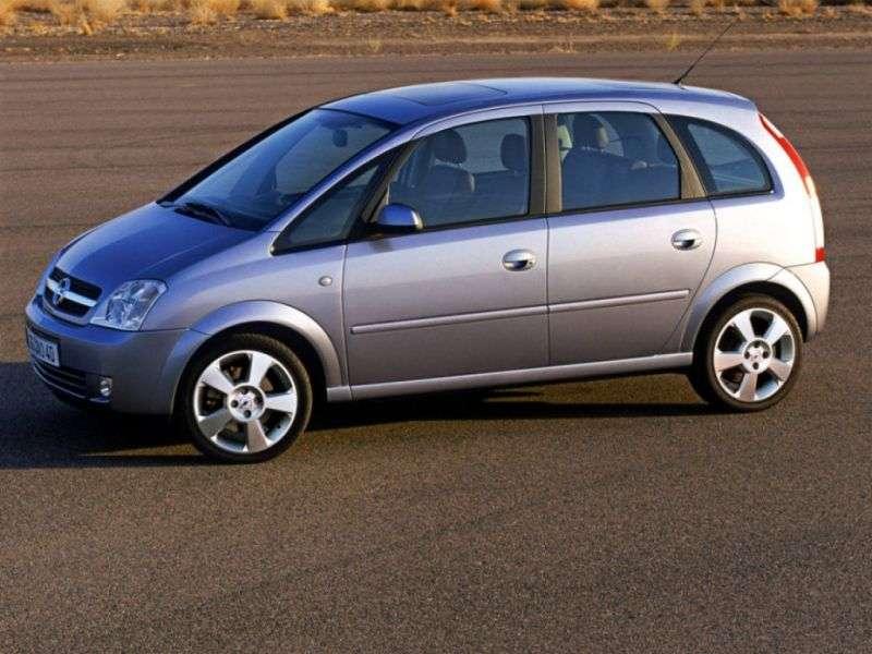 Opel Meriva 1st generation minivan 1.3 CDTI MT (2005–2006)