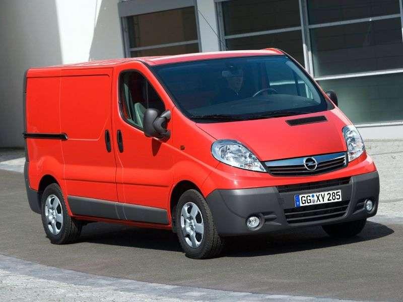 Opel Vivaro 1st generation [restyling] 4 door van. 2.0 CDTI L2H2 MT (2006 – present)
