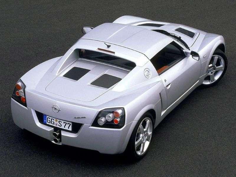 Opel Speedster 1st generation roadster 2.2 MT (2000–2003)