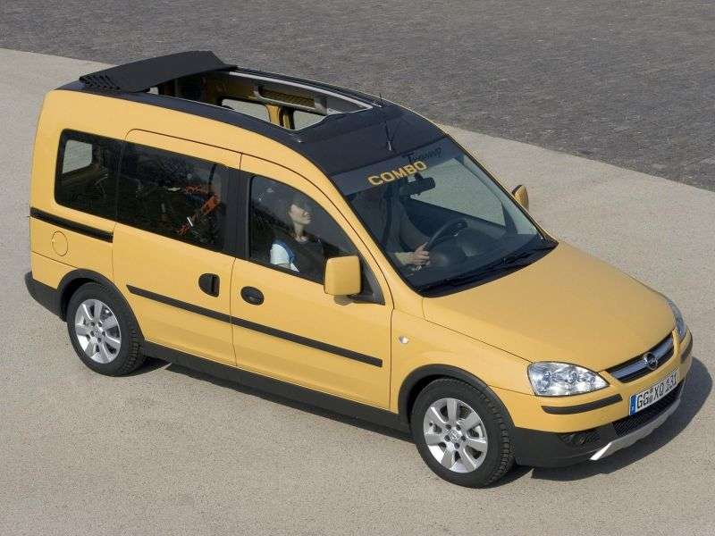 Opel Combo C [restyling] Tour Tramp minivan 5 dv. 1.6 CNG MT (2005–2011)