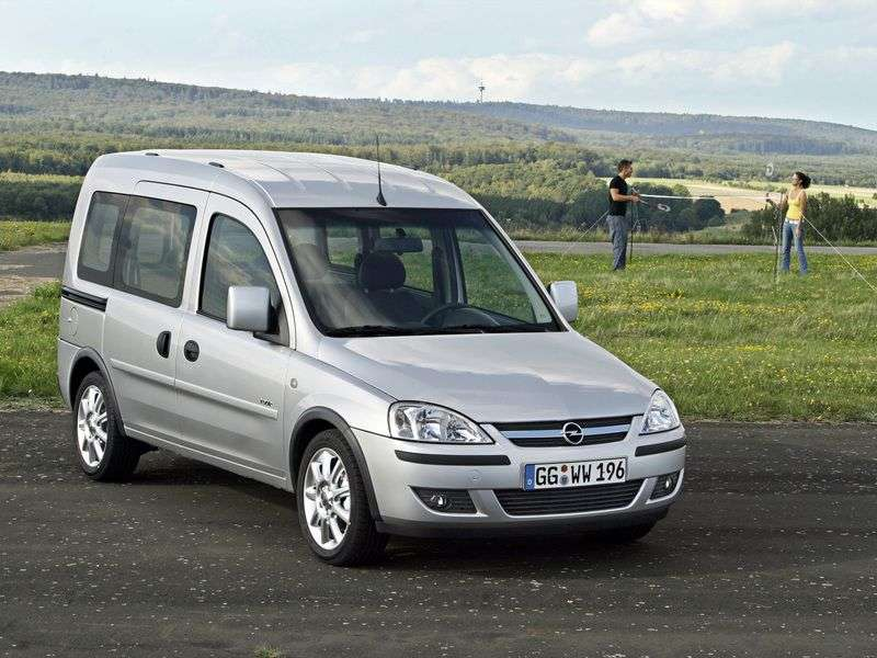 Opel Combo C [restyling] Tour minivan 1.6 CNG MT (2005–2011)