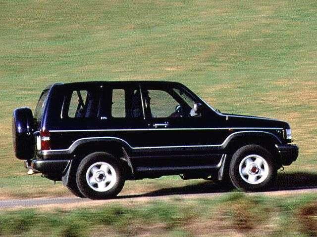Opel Monterey 1st generation SUV 3 dv. 3.2 MT 4WD (1992–1998)
