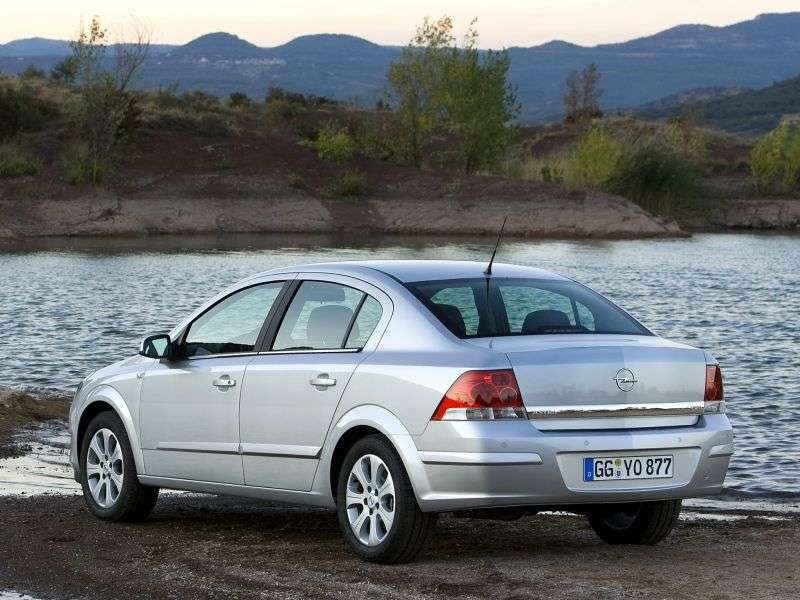 Opel Astra Family / H [restyling] 1.8 MT Enjoy Sedan (2007 – current century)
