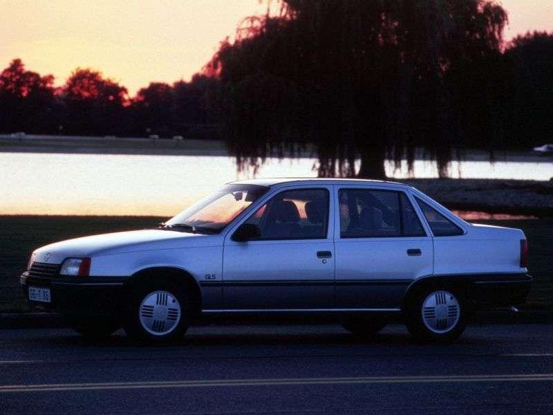 Opel Kadett Esedan 1.4 MT (1990–1991)