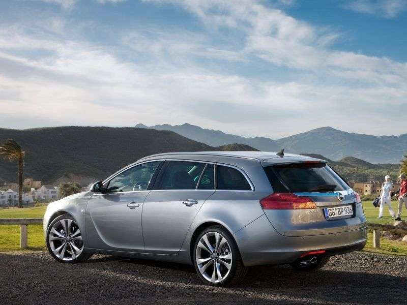 Opel Insignia 1st generation Sports Tourer 5 speed wagon. 2.0 CDTI MT (2009–2013)