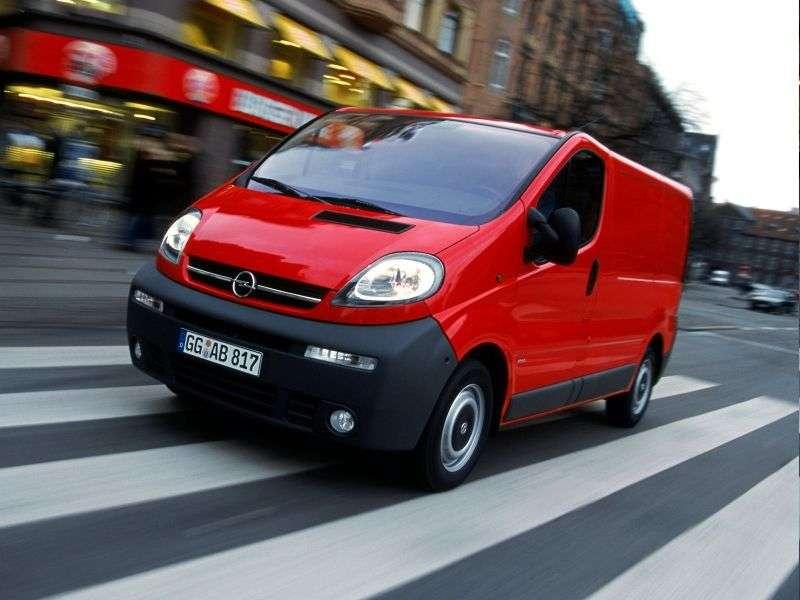 Opel Vivaro 1st generation van 2.5 CDTI MT L1H2 2900 (2002–2006)