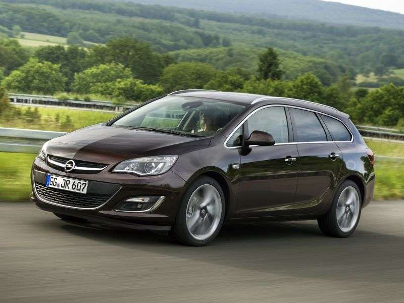 Opel Astra J [restyled] Sports Tourer 1.6 Turbo MT Touring (2012 – n.)