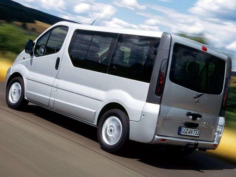 Opel Vivaro 1st generation Minivan 1.9 CDTI MT L1H1 2900 (2002–2006)