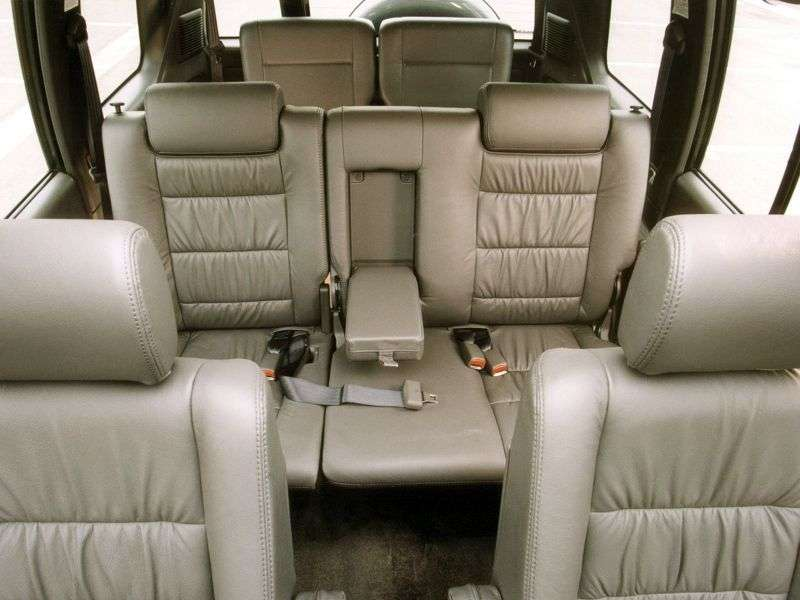 Opel Monterey 1st generation [restyled] SUV 5 bit 3.0 DTI MT 4WD (1998–1999)