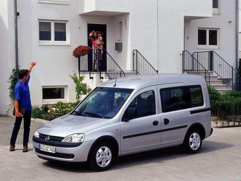 Opel Combo CTour minivan 1.7 DTI MT (2003–2005)