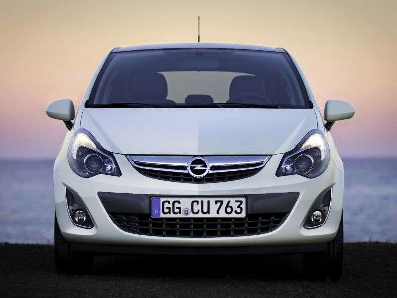 Opel Corsa D [restyling] 3 bit hatchback 1.4 MT Enjoy (2011 – n. In.)