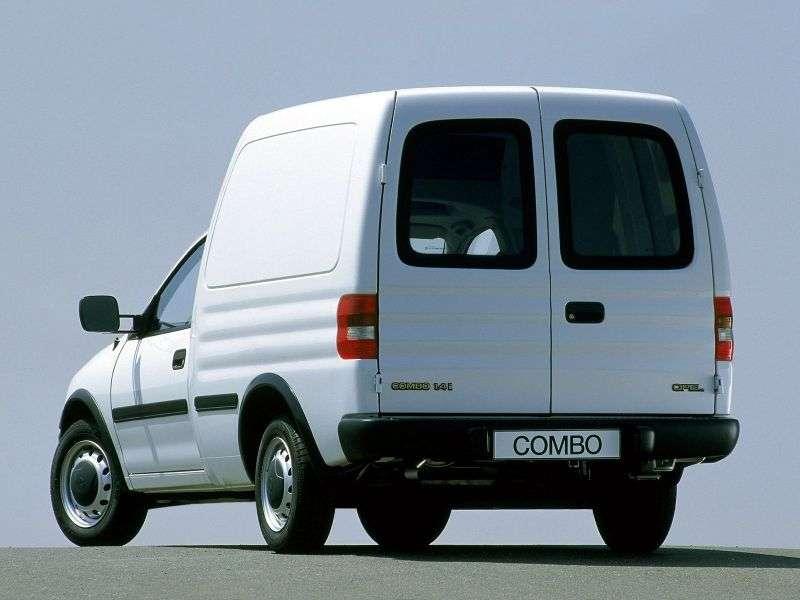 Opel Combo Van, 1.7D MT (1993–2001)