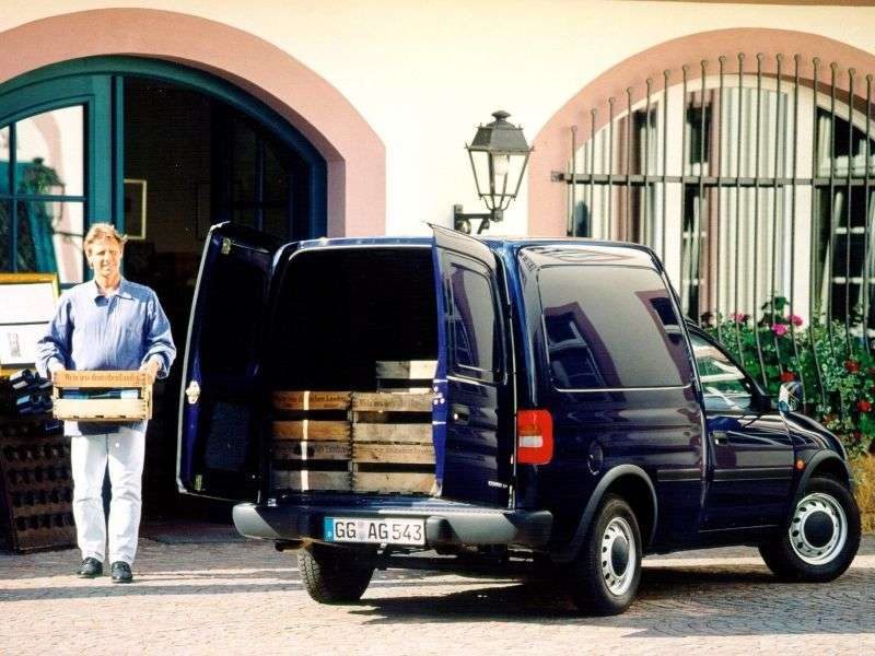 Opel Combo Van 1.4 MT (1993–2001)