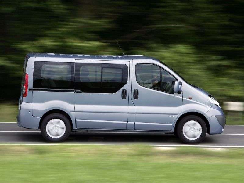 Opel Vivaro 1st generation [restyling] Minibus 2.5 CDTI L1H1 2700 Easytronic (2006 – n.)