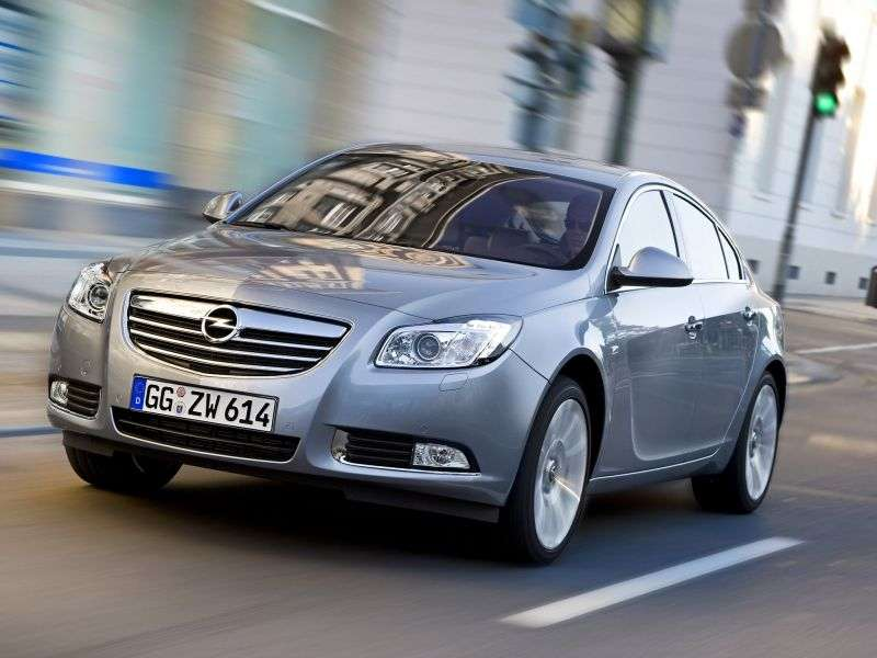 Opel Insignia 1st generation 4 door sedan 2.0 DTH AT 4x4 Business Edition (2011 – present)