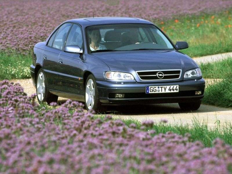 Opel Omega B [restyling] sedan 3.2 AT (2001–2003)